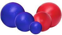 Jolly Ball Push-n-Play 15cm blauw