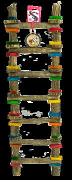 Birrdeeez 7 - Step Sekelbos Ladder X-Large