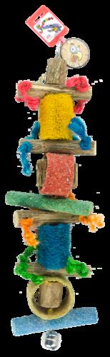 Birrdeeez Jumbo Macaw # 1 Parrot Rope Toy