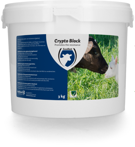 Crypto Block for calves