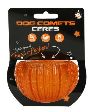 Dog Comets Ceres with Treat Locker Orange