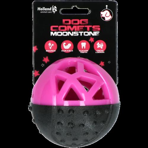 Dog Comets Moonstone Treat ball round pink