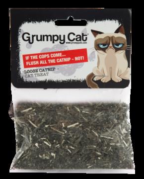 Grumpy Cat Loose Catnip Poly Bag