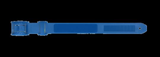 Leg band plastic blue