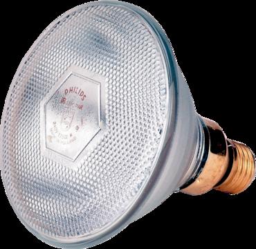 Infrared energy saving lamp 100 W white Philips