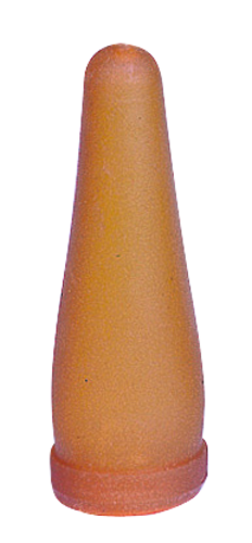 Lamb teat yellow/brown for on Beer bottle