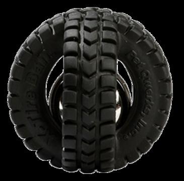 Pet Qwerks Jingle X-Tire Ball Small ø 8 cm