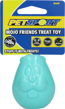 Mojo Friends Treat Ball Small Beaver