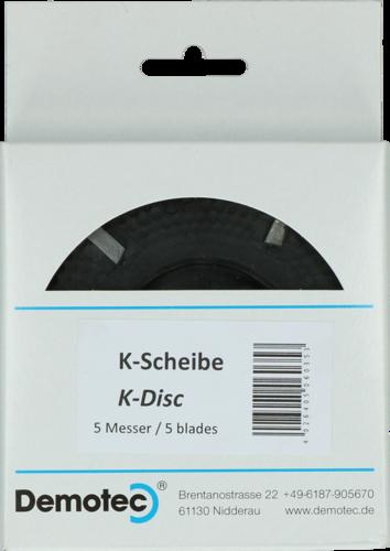 Hoof trimming disc Demotec K-Disc 100mm