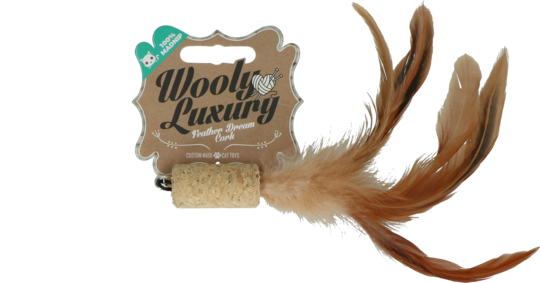 Wooly Luxury Feather Dream Cork Brown