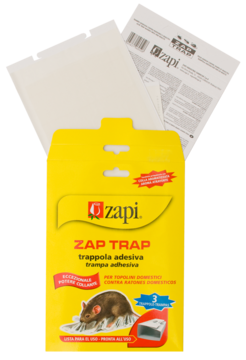 Zapi Zap Trap Glue for mice&insects 15x21 cm